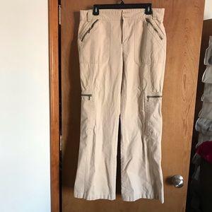 Banana Republic Bootcut Khaki Cargo Pant 14